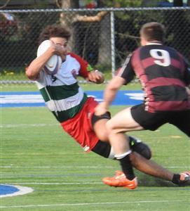 Running @ 45° - Rugby -  - Rugby Club de Montréal - Westmount Rugby Club