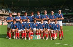 Équipe de 1991 - Rugby -  - Équipe de France de rugby à XV -