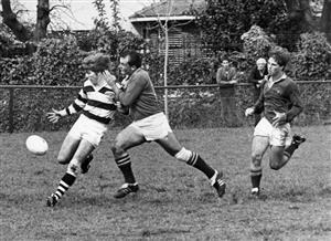 Partido contra Newman en el atlético - Rugby -  - Club Atlético de San Isidro -