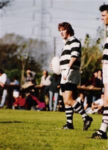 Righentini, Marcelo - Rugby - El Colo y Juan - Club Atlético de San Isidro - 1991/Oct/11