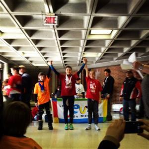 Plusieurs médailles d'or ! - Speed skating (short track) -  - Club de patinage de vitesse Montréal-Gadbois -