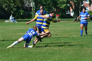 Sport Photo Book by Juan Alchourron - Rugby - Race to the last try #3 - Cegep John Abbott - 2021/Sep/12