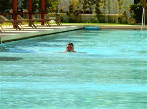 Nadando para una buena causa - Swimming -  - Cancun Hotels -