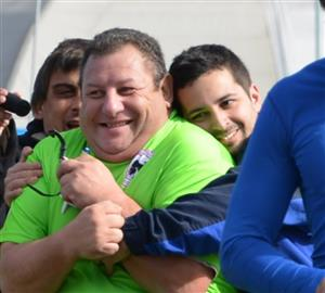 Abrazo de try! - Rugby -  -  -
