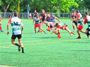 Un match dur et chaud - Rugby - Senior (M) - Rugby Club de Montréal -